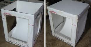 Лайтбокс из бумажных коробок