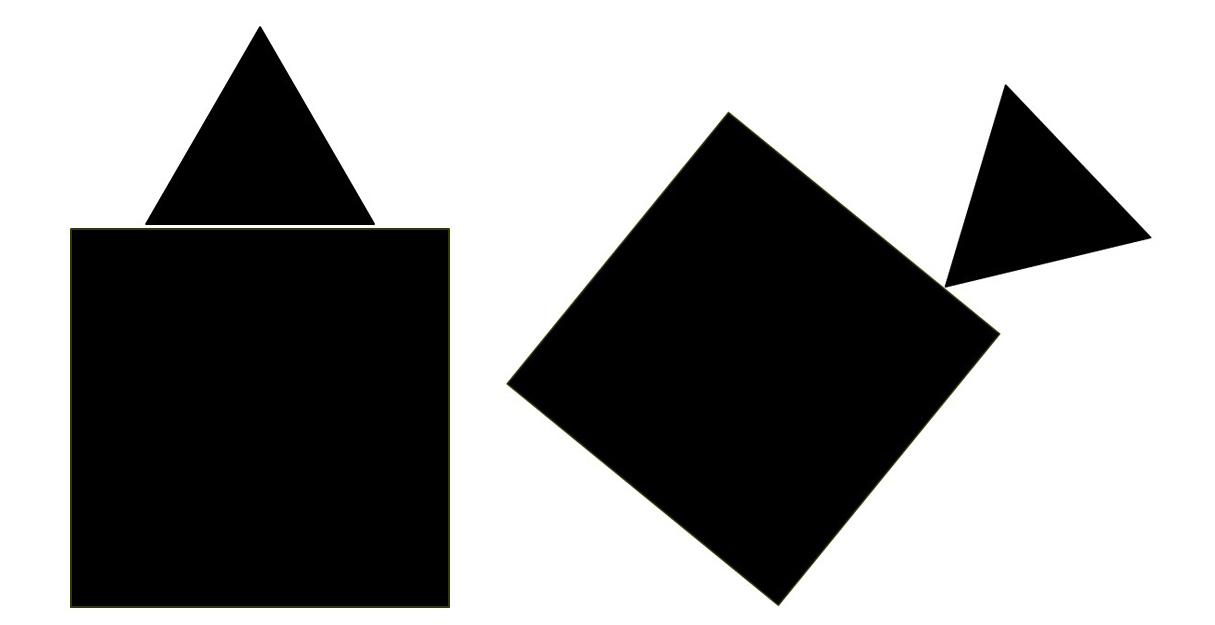 Динамика и статика в композиции