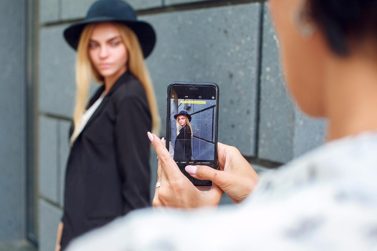 обработка фотографий с мобильного телефона самого