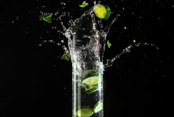 Брызги в стакане